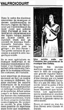 Concert médiéval à Valfroicourt
