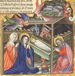 Nativité au cornemuseux