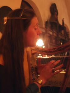Harpe gothique