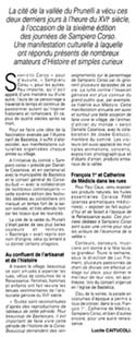 article de Corse-matin